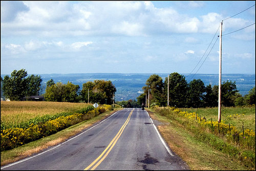Bicycling the Finger Lakes of New York