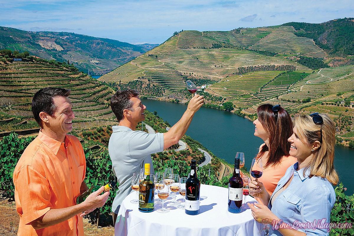 Winerty tasting Photo Credit: AmaWaterways
