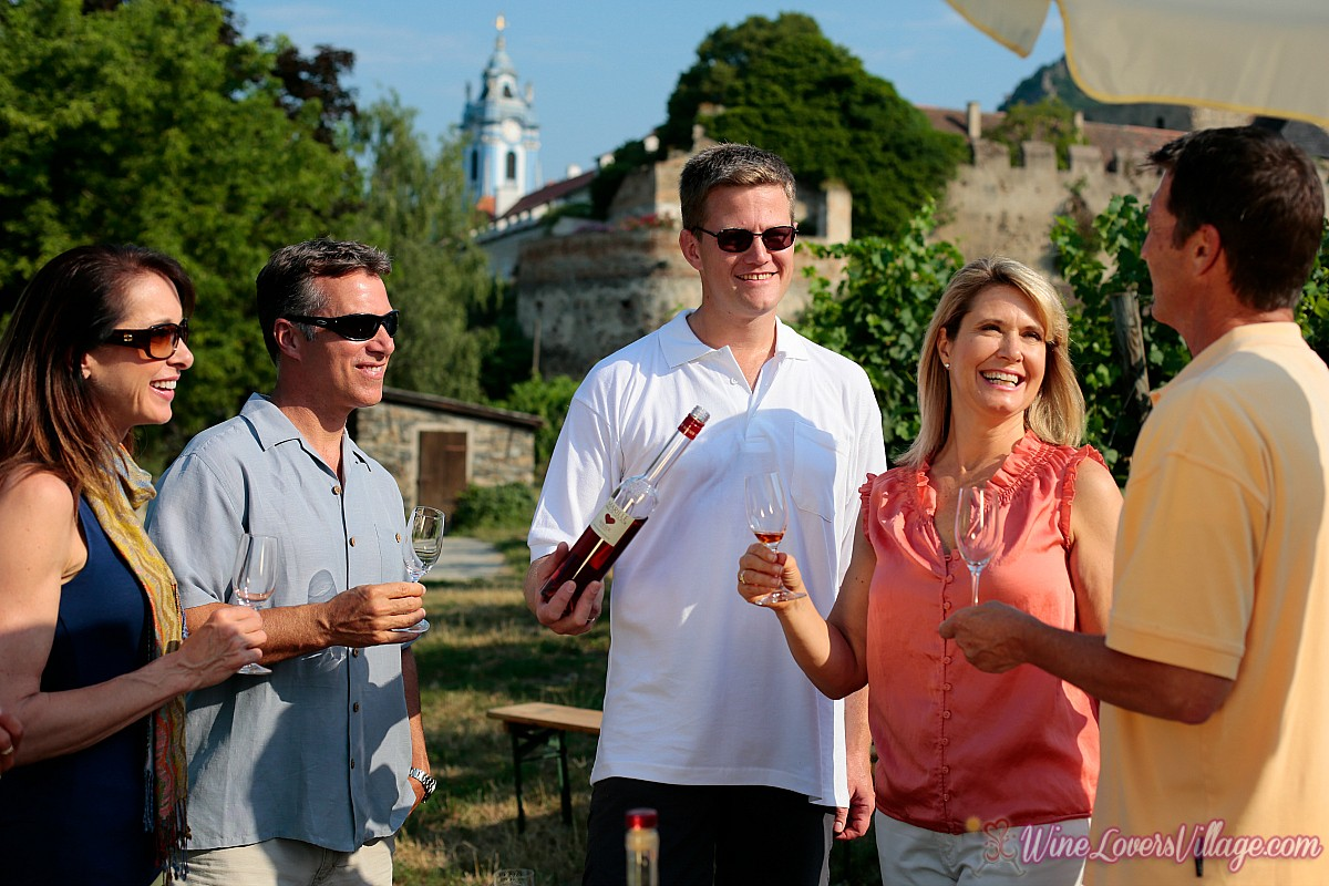 Wine themed cruises are all about wine tasting. Photo credit: AmaWaterways