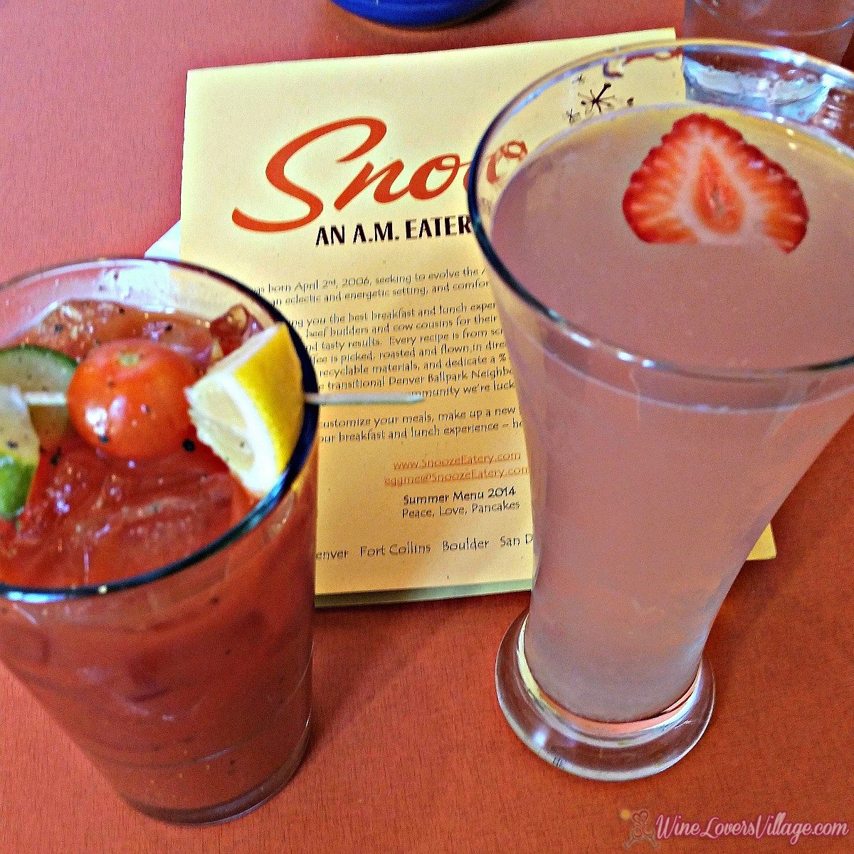 Denver tops the list for America's best cities for brunch, and these brunch cocktails at Snooze in Union Station Denver are worth the stop.