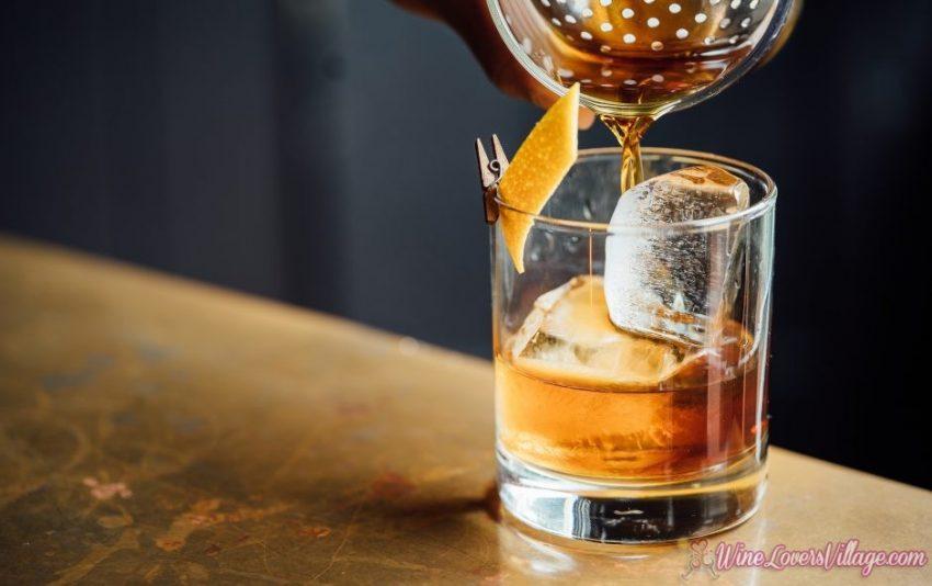 Bourbon cocktail: Eaglewood Maple Manhattan