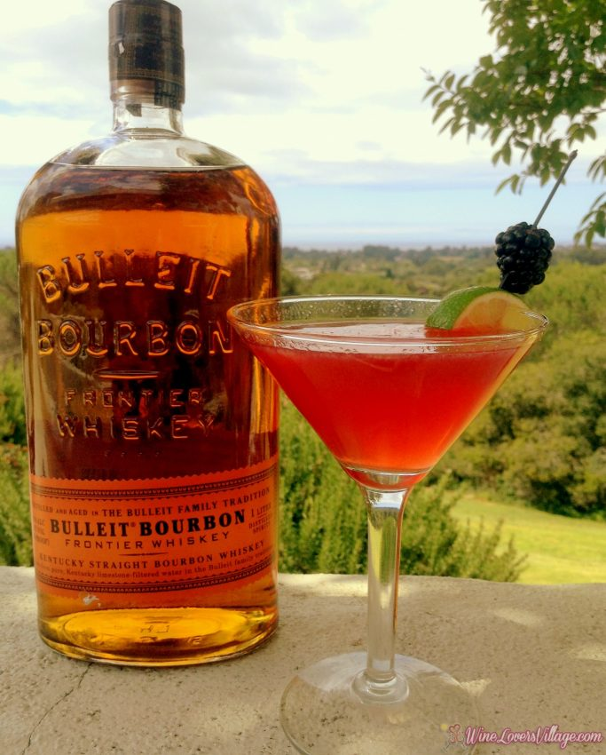 The Black Pearl, one of several bourbon cocktail recipe courtesy of Benchmark Resorts & Hotels.