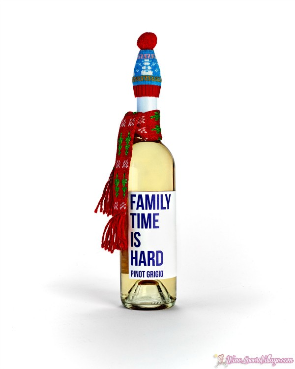Just in time for the holidays, Family Time is Hard Pinot Grigio.