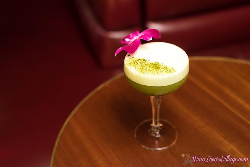 The Curse of Lo Pan, one of several healthy cocktail recipes