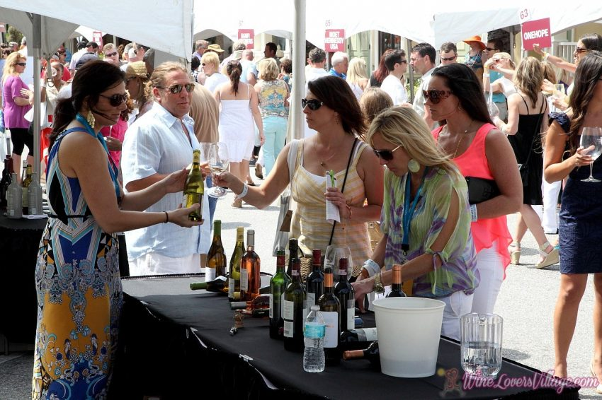 Sandestin Wine Fest, one of several. When winter wanes and spring arrives, South Walton, Florida is a playground for foodies and wine connoisseurs, featuring several Spring Food & Wine Festivals. Photo Courtesy: Visit South Walton, Florida