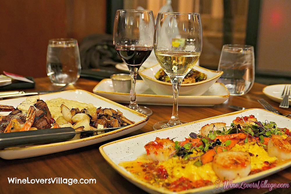 Denver's Pub 17 on Welton Grand Hyatt Wine food Pairings
