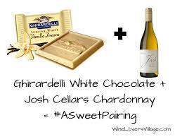 Ghirardelli-White-Chocolate-Josh-Cellars-Chardonnay-1-3  sc 1 st  Wine Lovers Village & ASweetPairing: Ghirardelli Chocolates and Josh Cellar Wines - Wine ...