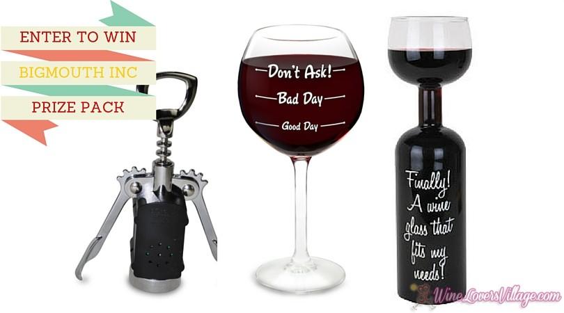 BigMouth WINE PRIZE PACK