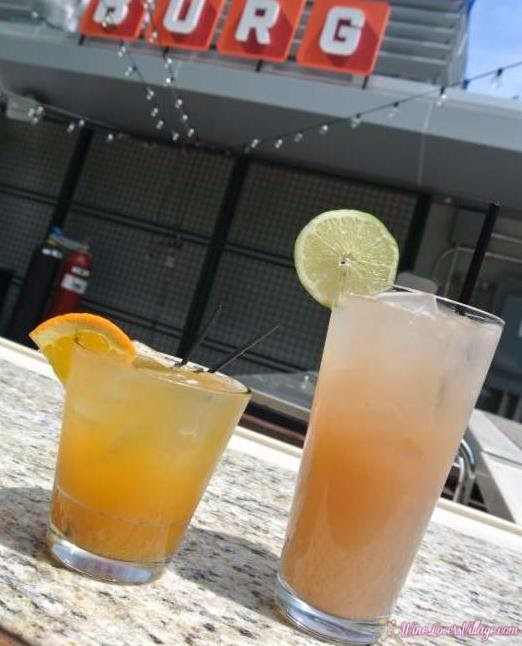 BURG, a New Jersey restaurant, created these 2 unique summer drinks: Brick City and New Ark.