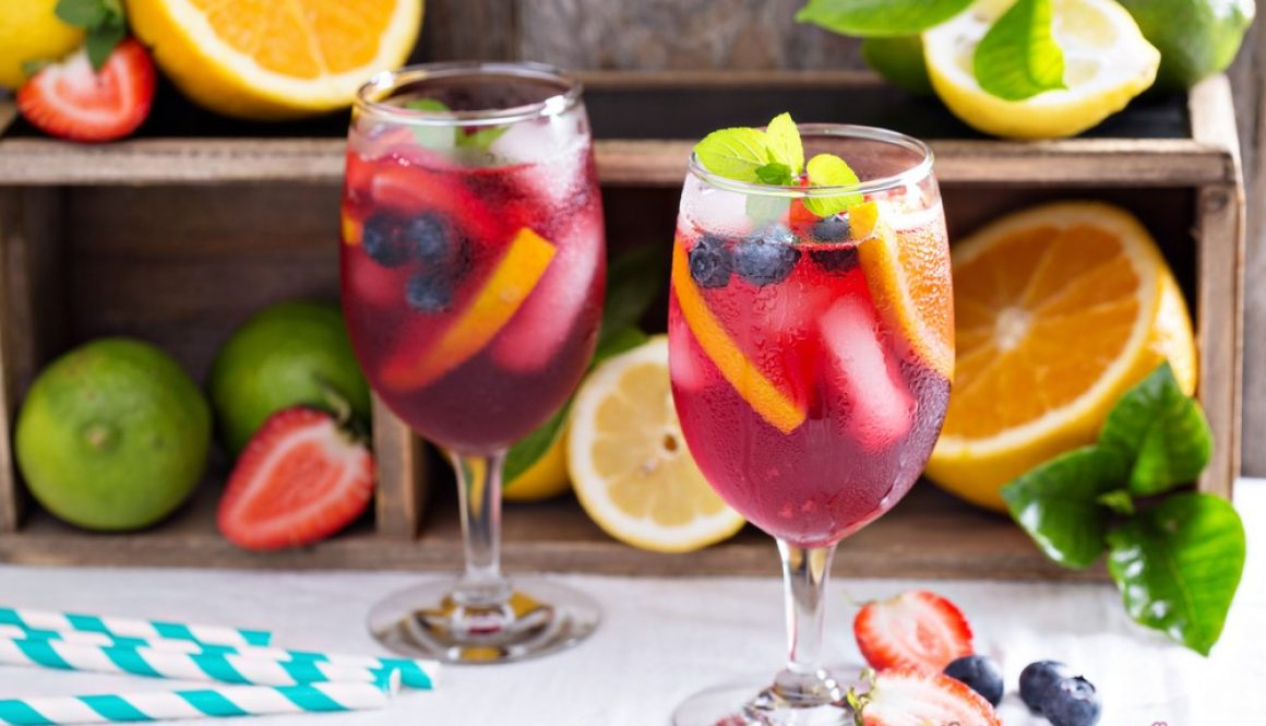 what goes into sangria