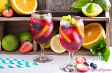 what goes into a good sangria recipe?