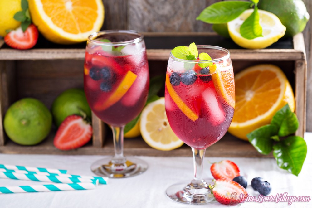 Fourth of July Sangria Recipe