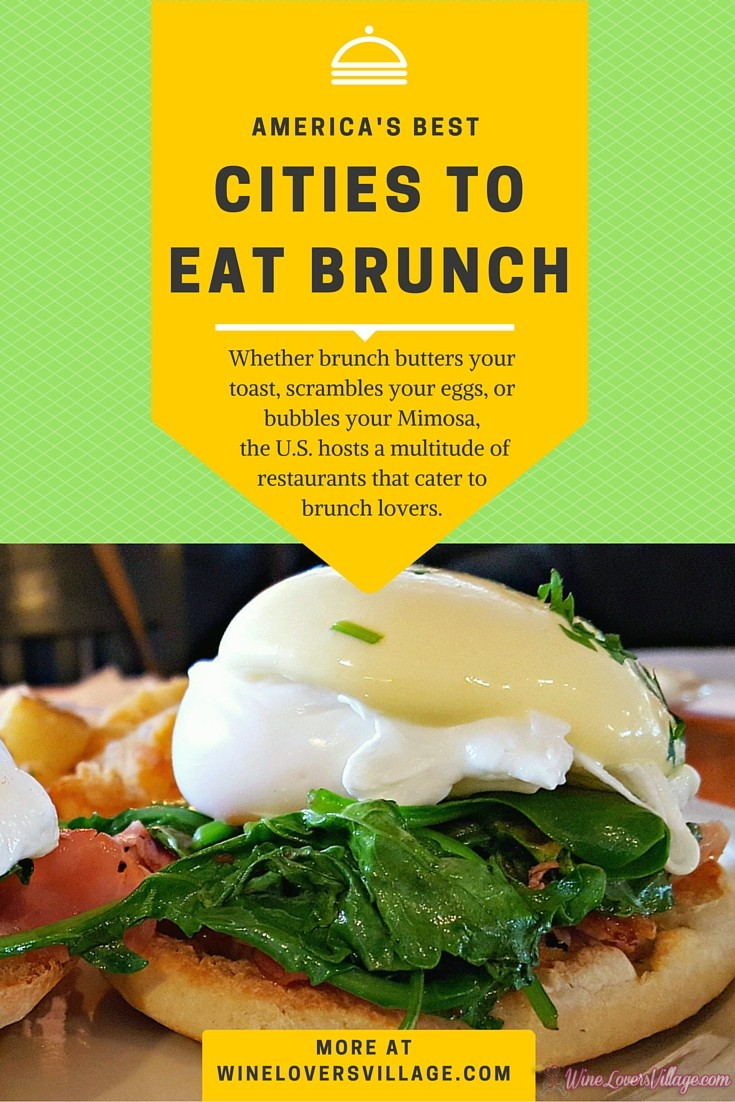 America's Best citites to Eat Brunch