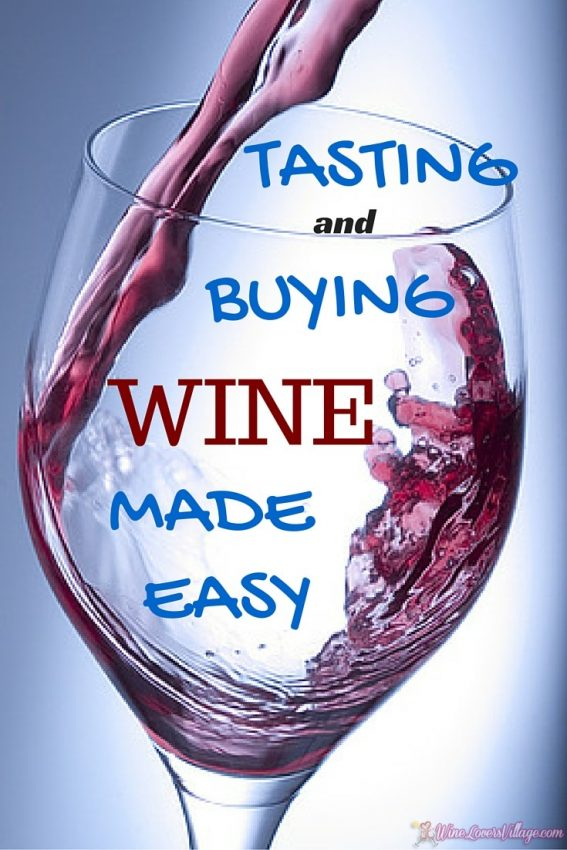 how to taste and buy wine