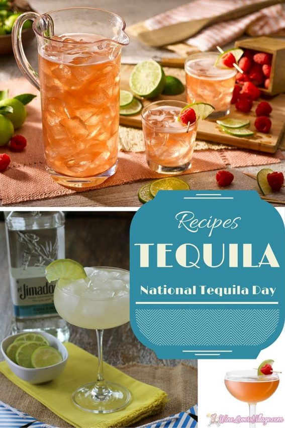 Tequila Cocktail recipes for National Tequila Day - WineLoversVillage.com
