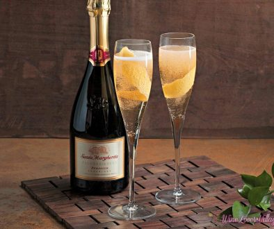 Festive Wine Cocktail Recipes for Fall - Lemon Elderflower with Santa Margherita Prosecco