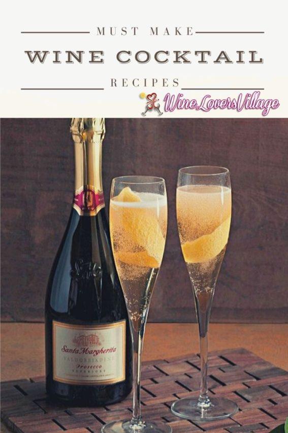 Simple Wine Cocktail Recipes #winerecipes #santamargaritawine #wineloversvillage #cocktailrecipes