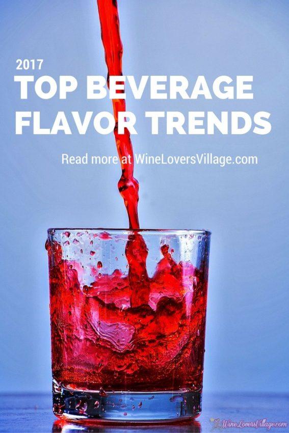 Top beverage flavor trends in 2017