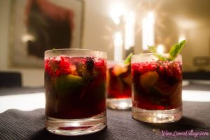 Twisted Ginger Berry is 1 of 3 recipes for healthy mocktails that taste good.