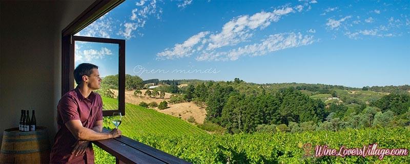 Southern Australia's Adelaide Hills Wine region produces Italian style wine.