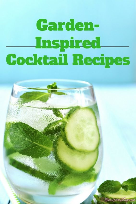 Refreshing Garden-Inspired cocktail recipes.