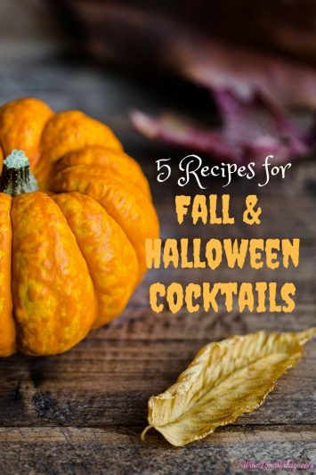 From Autumn Leaves to a Pumpkin Martini, here are 5 recipes for Fall & Halloween cocktails.