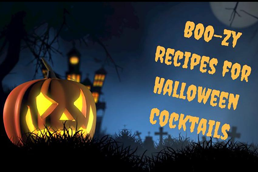 Not-so-Scary BOO-zy Fall Recipes for Halloween Cocktails