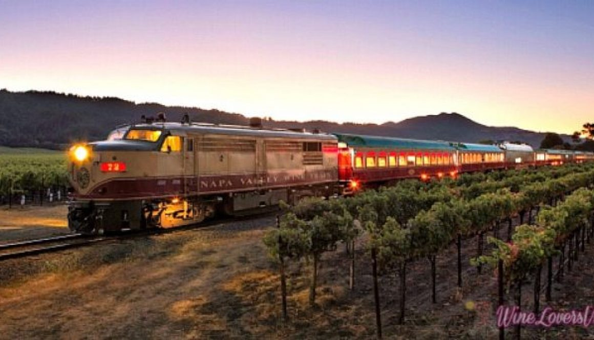 All aboard the wine train -- and yes, Napa Valley IS open for business.