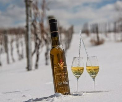 Sheldrake Point Winery, a Finger Lake NY ice wine vineyard suggests thinking outside the box when food pairing reisling ice wine.
