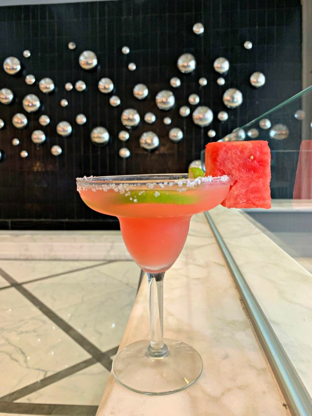Julio Watermelon Margarita - Hilton Miami Downtown