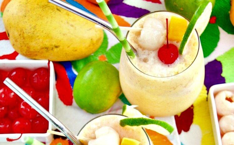 mango-lychee-wine-slushies