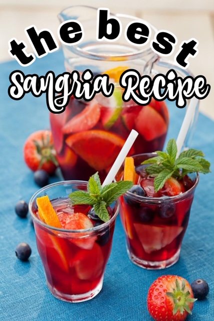 Check out the best sangria recipe we have found. And it is so simple too.