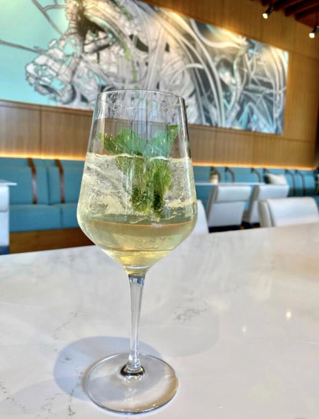 Order a Set Sail Spritz at Hyatt Centric Las Olas in Fort Lauderdale.