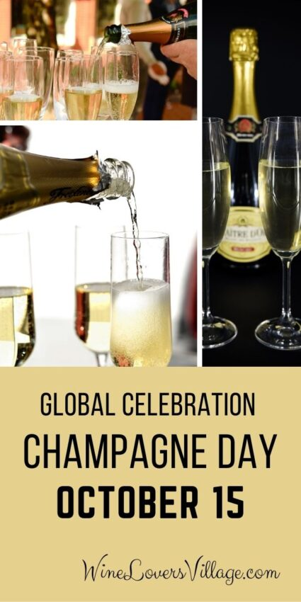 Join the global celebration of #champagneday on October 15, 2021 -- and every day cheers to #champagne #nationalwineday #nationalchampagneday #wineloversvillage